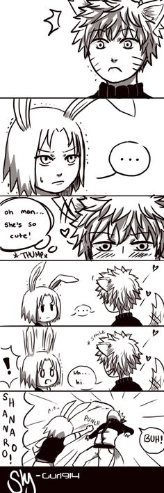 The Fox and the Bunny-Toothy Grin (1) by Shy-Gurl914.deviantart.com on @deviantART