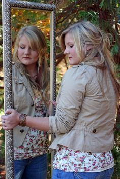 """""""I think I'll go into the forrest with my full length mirror and contemplate my senior year."""""""
