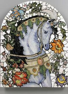 Beautiful mosaic from unknown artist