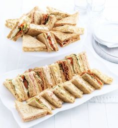 Classic Selection (14 Sandwich Quarters)-Marks & Spencer