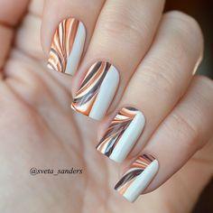 Image IMG 8209 in Beautiful nails album Nail Polish Designs, Nail Art Designs, Hair And Nails, My Nails, Water Marble Nail Art, Nail Pops, Spring Nail Trends, Nails Only, Sparkle Nails