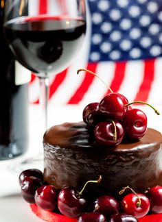 Decadent chocolate and red wine cake recipe