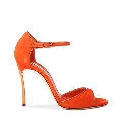 Casadei | Orange Blade | Lyst #casadei
