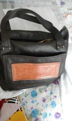 Yvonne leather bag
