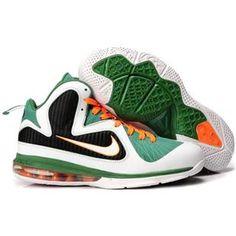 san francisco 76a5d b469c Nike LeBron 9 Miami Hurricanes Sport Basketball Shoes On Sale, Mvp  Basketball, Michael Jordan