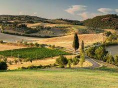 Montepulcian, near Siena. Midevil town.