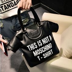This Is Not A T-shirt Handbag  $34.90  10% off discount code sweetbox for new arrivals