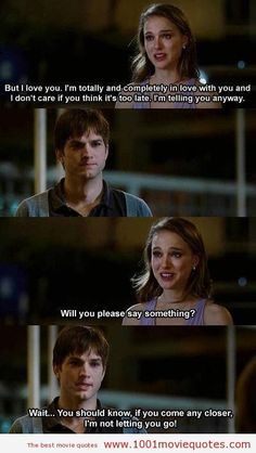 No strings attached (2011) - movie quote: