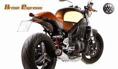 Triumph Speed Triple British Espresso by Triumph Motorcycles, Custom Motorcycles, Custom Bikes, Triumph Speed Triple, Custom Cafe Racer, Custom Cycles, Bike Shed, Bike Style, Cafe Racers