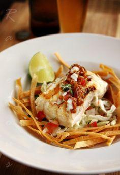 "Ensenada Style Pan Seared ""Fish Tacos"""