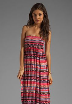 Rachel Pally Loveboat Strapless Dress in Granita Folk Stripe @REVOLVEclothing @B B DAKOTA