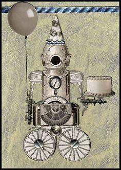 birthday robot
