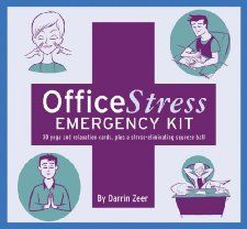 Office Stress Emergency Kit: The World's Easiest Stress Management Program [Cards] -- by Darrin Zeer.  Click the picture to read more....
