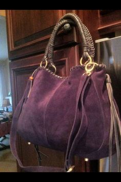 My new purple purse <3