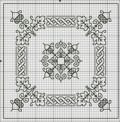 Gallery.ru / Фото #1 - БИСКОРНЮ и др.!9 - Yra3raza. Lots of patterns that could be biscourni or 1 color cross stitch.