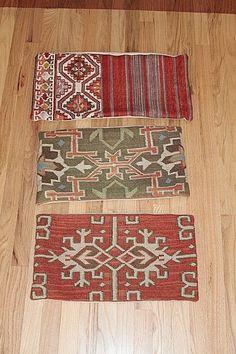 2 Restoration Hardware Turkish Wool Kilim Pillow Covers