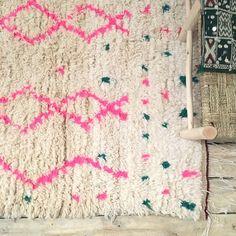 Image of Tapis azilal pink Vintage Children, Kids Furniture, Decoration, Bohemian Style, Sweet Home, Kids Rugs, Mini, Design, Home Decor