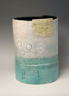 scratched in elements, added clay layers, simplistic illustration, Craig Underhill