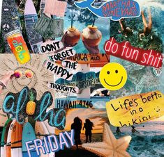 ☆ szn summer aesthetic, aesthetic collage, c Summer Vibes, Summer Fun, Summer Goals, Summer Bucket, Vsco, Inspiration Drawing, Inspiration Boards, Art Tumblr, Happy Vibes