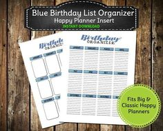 Printable Birthday Reminder Sheet ~ Printable calendar wall calendar pages bright and cheery