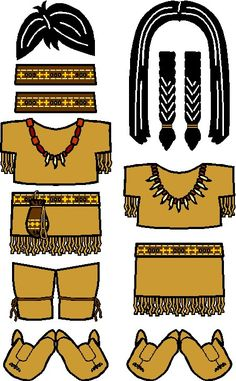 Our Playtime Native American Paper Doll has appeared just in time to join the Thanksgiving festivities. Gather your friends and get ready to start your own