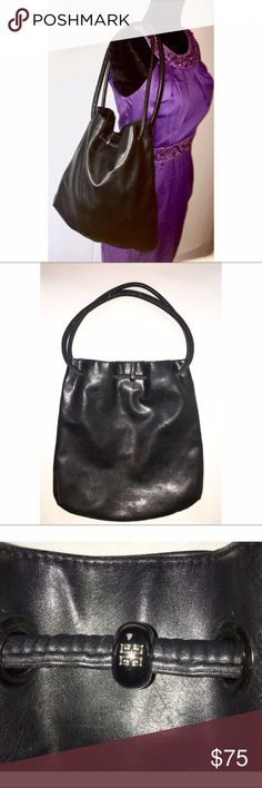GIVENCHY HOBO GIVENCHY PARFUMS HOBO TOTE BAG - GENTLY USED MINOR EXTERIOR MARKS BUT NONE TOO REVEALING. Givenchy Bags Hobos