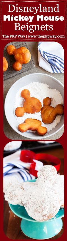 Disneyland Mickey Mouse Beignets are a must on every Disneyland trip and now you can make them at home with the original recipe and my tips for success!