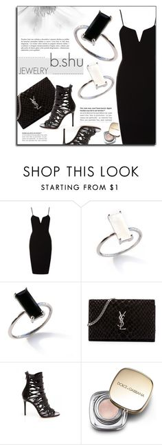 """""""BSHUJEWELRY.com"""" by monmondefou ❤ liked on Polyvore featuring Yves Saint Laurent, Dolce&Gabbana and bshujewelry"""