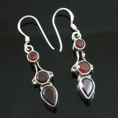 This is a beautiful 925 sterling silver stone dangle earring set which will add more charms to your jewelry collection. Fashion Jewellery, Women's Earrings, Earring Set, Jewelry Collection, Silver Jewelry, Dangles, Sterling Silver, Stone, Elegant