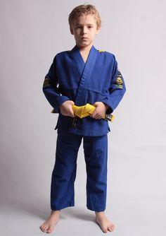 Kimono Pro Light Azul/Blue - Infantil