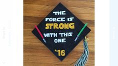 Star Wars graduation cap