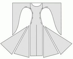 Medieval dress pattern by Pustetrolden