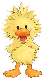 Japanese website with Suzy's Zoo clip art. #duckling