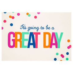 Great Day Wood Wall Decor