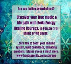 To learn more about Reiki, how is works and how you can benefit daily from practicing self-reiki go to the link in my profile or www.handserenity.com/reiki-courses. Email emma@hansdserenity.com with any questions. Namaste 🌟 #reiki Reiki Courses, Animal Reiki, Self Treatment, Release Stress, Reiki Energy, Self Healing, Confidence Building, Namaste, Benefit