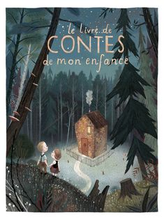 Le livre de Contes de mon enfance (The Book of my Childhood Tales) cover by Júlia Sardà