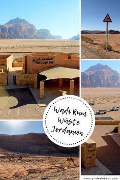 Jordanien Wadi Rum Wüste - Highlights, Tipps und Infos zu einem Besuch in der Wüste Wadi Rum, einer der beliebtesten Sehenswürdigkeiten in Jordanien. Unser Tipp: besichtigt auch unbedingt den Al Hijaz Zug, am Weg zur Wüste Wadi Rum. Dieser und zahlreiche weitere Tipps für einen Jordanien Urlaub und weitere Tipps für eine Reise in den Nahen Osten auf www.gindeslebens.com #Jordanien #WadiRum Wadi Rum, Tromso, Places To See, Highlights, Outdoor, Train, Birds Eye View, Adventure Travel, Bike Rides