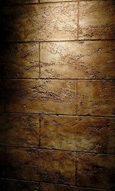 Decorative Plaster, Plaster Art, 3d Wall Art, Mural Art, Stone Texture Wall, Art Decor, Decoration, Travertine Tile, Steel Wall