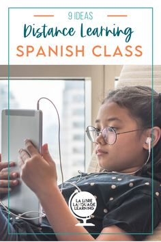Tired of distance learning? So is your Spanish class. Give your Spanish 1 students some fresh new resources and revitalize your distance learning spanish class with free activities, technology tips for remote learning, and great google classroom activities for high school Spanish 2 or Spanish immersion. Your remote learning experience teaching from home doesn't have to go stale with 9 brand new lesson plans and professional development! #spanishclass #distancelearning #remotelearning… Spanish Classroom Activities, Spanish Teaching Resources, First Day Of School Activities, Spanish Language Learning, Free Activities, Teacher Resources, Spanish Lesson Plans, Spanish Lessons, Spanish 1