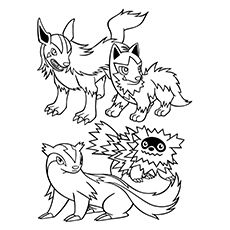 mightyena coloring pages - photo#19
