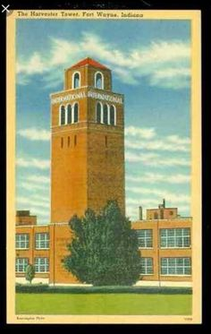 International Harvester  Where my Father, Brother, Sister & Myself worked. ( two generations and then it was gone)