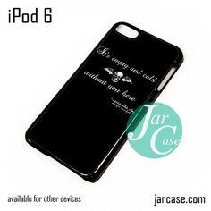 Avenged Sevenfold Quotes iPod Case For iPod 5 and iPod 6