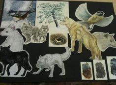 my Art Prep sheet for June 11 Junior Cert on Wolves in the forest Prep sheet for JC Art pro Roy Lichtenstein, David Hockney, Arts Ed, My Arts, Creative Art, Creative Ideas, Pop Art, Portfolio Ideas, Marie Antoinette