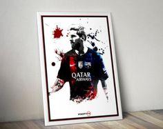 FC Barcellona Messi Wall Decal sport Wall Art Sticker Decor