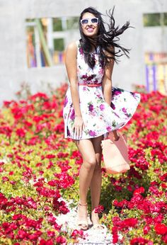 27 Fashionable Floral Print for An Impressive Date…