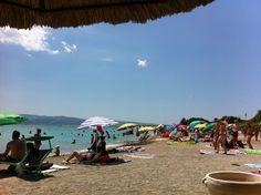 Gradska plaža Omiš in Omiš, Splitsko-Dalmatinska Županija Montenegro, Four Square, Swimming, Places, Swim, Lugares