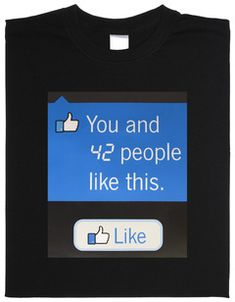 Facebook T Shirt, Nerd, Motivation, People Like, Cool Shirts, Shirt Style, Cool Stuff, Fun, Button