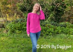 Esther in pink. – by dagbjort Three Boys, Woven Fabric, Blouse, Sleeves, Pink, October, Sewing, Style, Fashion