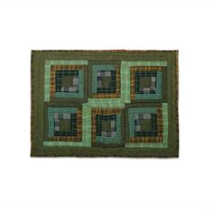 Cotton King Sham 31 X 21 Color: Green. Log Cabin Furniture, X21, Patches, Magic, King, Green, Walmart, Gender, Unisex