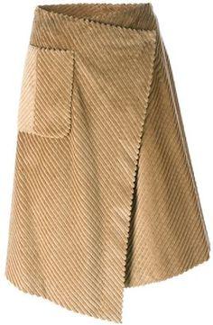 Maison Margiela corduroy wrap skirt